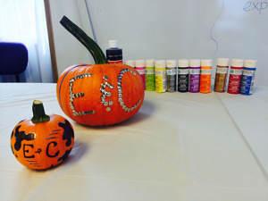 pumpkin-painting
